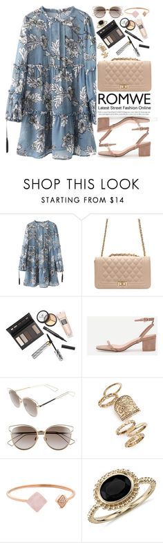 """""""Romwe"""" by oshint ❤ liked on Polyvore featuring Borghese, Christian Dior, Topshop, Michael Kors and Blue Nile"""