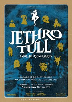 Rock Posters, Band Posters, Concert Posters, Event Posters, Gig Poster, Music Posters, Jethro Tull, Kinds Of Music, Music Is Life