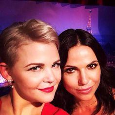 Awesome Lana and Ginny #D23Expo Anaheim Ca Saturday 8-15-15