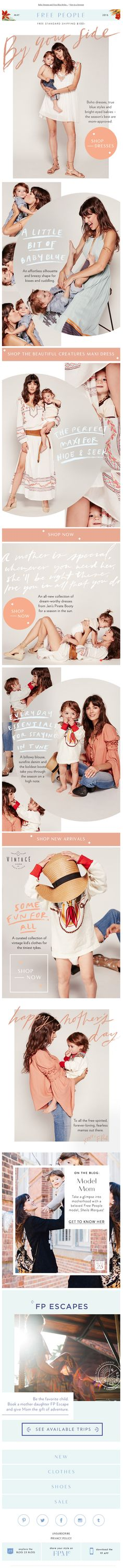 Free People email May 2016