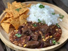 Mexicaanse chili con carne - Powered by Quesadilla, One Dish Dinners, Evening Meals, Slow Cooker Recipes, Stew, Crockpot, Easy, Curry, Food And Drink