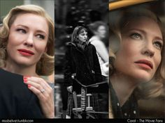 "Starring Cate Blanchett, Rooney Mara, Sarah Paulson & Kyle Chandler. Directed by Todd Haynes. Adapted from the Patricia Highsmith masterwork ""The Price of Salt"" also known as ""Carol"".   TBC - 2015"