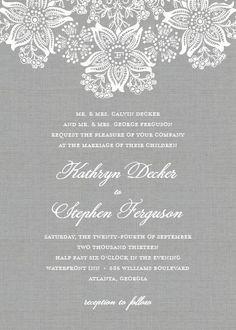 Elegant Lace Wedding Invitations,  Inspiration for Mobella Events, Wedding Planner Orlando, Wedding Planner St. Petersburg, www.mobellaevents.com