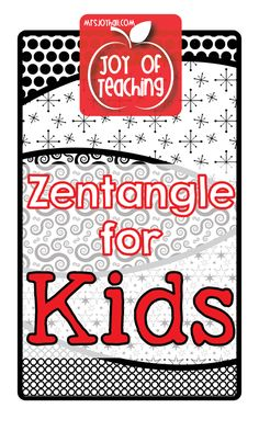 The benefits of teaching students to Zentangle (along with resources): 1.Increases Focus & Concentration 2.Calming & Relaxing 3.Fine Motor Practice 4.Increases Hand-Eye Coordination 5.Develops Patterning Skills 6.Increases Memory