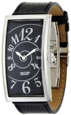 T-Prince Tissot Mens Watch with Black Dial
