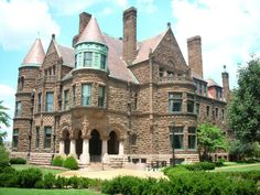 Cupples House is a historic mansion in St. Louis, Missouri, constructed from 1888 to 1890 by Samuel Cupples, a wealthy businessman. It is now a museum on the campus of Saint Louis University. The house is designed in the Richardsonian Romanesque architectural style.