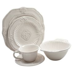 Stylist's Tip: Classic white dinnerware offers flexible style for any occasion. Whether you're prepping for a wedding reception, throwing a kindergarten te...