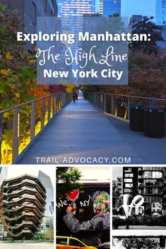 The High Line in Manhattan is a beautiful path straight down the west side of the island. But so many locals and tourists trying to do locals' stuff skip it because of how touristy it gets. And I get it, I don't like people either. Yet, I love the High Line! Let me tell you why. #nyc #newyorkcity #manhattan #travel #cityhike Nyc Itinerary, Usa Travel Map, New York City Travel, High Line, Amazing Nature, Where To Go, Manhattan, Travel Destinations, Tourism