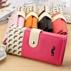 273b0b51322 New Hot Sale Women High Quality Solid Button Leather Hand Bag Long Clutch Wallet  Purse
