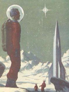 Astounding Science Fiction - 1956 Cover: Van Dongen