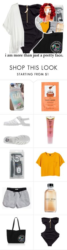 """I miss the summer. :("" by trillestqueen ❤ liked on Polyvore featuring H&M, JuJu, Barry M, Topshop, Monki, Madewell, Bobbi Brown Cosmetics, Cool Change, women's clothing and women"