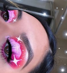 Are you looking for ideas for your Halloween make-up? Check out the post right here for perfect Halloween makeup looks. Cute Makeup Looks, Makeup Eye Looks, Eye Makeup Art, Colorful Eye Makeup, Halloween Makeup Looks, Crazy Makeup, Gorgeous Makeup, Pretty Makeup, Skin Makeup