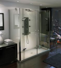 MAAX - Purfect Dual Wall-Mounted Shower Door  www.maax.com