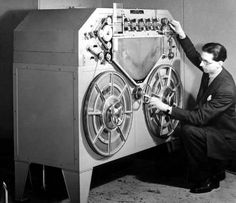 How cool - the first reel to reel tape recorder! #invention #history #innovation