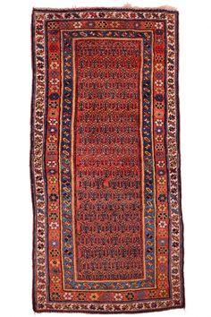 Caucasian Genje Carpet | Boutique Carpets - Oriental Rugs & Textiles in Cappadocia   ORIGIN: Caucasian - Genje AGE: 80 Years MATERIALS: Pure Lambs Wool DIMENSIONS: 255 x 120 cm