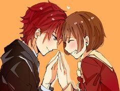 Lindo y Ritsuka. El Amor prohibido♡. Anime:Dance With Devils.