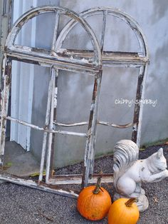 old and chippy windows that I love
