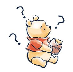 LINE Official Stickers - Winnie the Pooh & Christopher Robin Example with GIF Animation Winnie The Pooh Cartoon, Winnie The Pooh Drawing, Cute Winnie The Pooh, Winnie The Pooh Quotes, Winnie The Pooh Friends, Wallpaper Iphone Cute, Disney Wallpaper, Disney Drawings, Cute Drawings