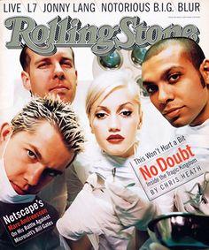 no doubt 759 cover 1997 Tragic Kingdom Rolling Stone