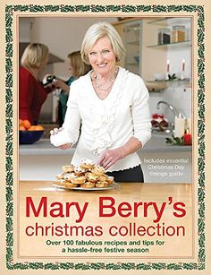 """No British cookbook collection is complete without at least on Mary Berry Book. The """"Queen of Baking"""" her Christmas collection is a must-have for festive cooking. British Baking Show Recipes, British Bake Off Recipes, Great British Bake Off, Baking Recipes, Easy Recipes, British Dishes, British Cook, British Desserts, Queen Of Puddings"""
