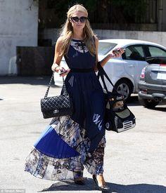 Paris Hilton Los Angeles April 28 2014