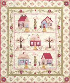 Cottage Charm from the Quilt Company    http://www.quiltcompany.com/brnecoch.html2