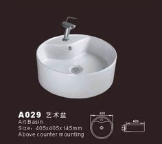 Product Name:Vessel Bowl  Model No.: DB-A029 Dimension:405X405X145mm  (1 inch = 25.4 mm)  Volume:0.033 CBM  Gross Weight: 8 KGS  (1 KG ≈ 2.2 LBS) Bowl shape: Round
