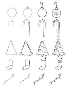 Christmas Doodles for Your Bullet Journal: Free Printable Guide ⋆ The Petite Planner Christmas Doodles for Your Bullet Journal + Free Printable Step-by-Step-Guide Related posts:Painted Rock Photo Holder Craft for Kids - Buggy and. Bullet Journal Christmas, December Bullet Journal, Bullet Journal Set Up, Bullet Journal Layout, Bullet Journal Ideas Pages, Bullet Journal Inspiration, Easy Christmas Drawings, Christmas Doodles, Christmas Christmas