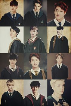 EXO and Harry Potter meet! I would love it if this was real