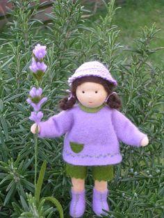 Lavendelmädchen