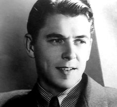 Ronald Reagan during his acting years
