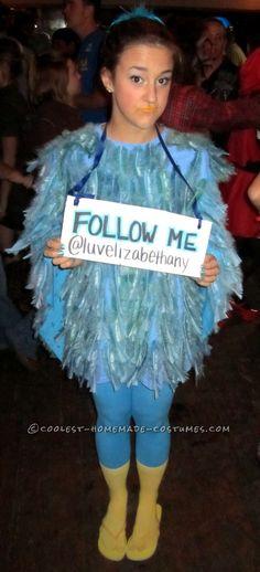 Original Female Twitter Bird Costume | Tweet tweet, Bird costume ...