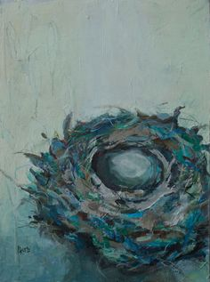 Part of my nest painting series, 24 x 18.  Please visit my website to see more paintings, www.lorrakurtz.com My Nest, India Ink, Paintings, Fine Art, Website, Paint, Painting Art, Ink, Draw