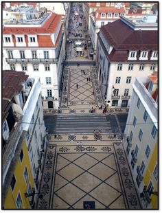 """calçada portuguesa"" = the typical Portuguese cobblestone pavement Visit Portugal, Portugal Travel, Spain And Portugal, Spain Travel, Cruise Destinations, Voyage Europe, Pavement, Landscape Architecture, Portuguese"