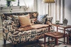 Bara vackra ting: 7 a week – Höstdagjämning (Living by W) Interior Styling, Interior Decorating, Interior Design, Living Room Interior, Living Rooms, Bohemian House, Sofa, Couch, William Morris