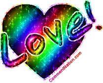 Výsledek obrázku pro rainbow love