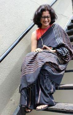 New Fashion Style Primavera Blouses Ideas Simple Sarees, Trendy Sarees, Stylish Sarees, Indian Attire, Indian Ethnic Wear, Indian Outfits, Indian Style, Saris, Indian Sarees