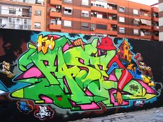 Paris Tonkar magazine // Graffiti and Street art: Dilm / Fase (Fasim :: sept 2013 :: Valencia