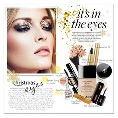 """""""It's in the eyes"""" by milagros93thebest ❤ liked on Polyvore featuring beauty, Envi:, Benefit, Yves Saint Laurent, Christian Dior, Chanel and By Terry"""