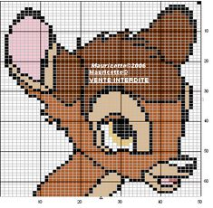 Bambi perler beads pattern by Mauricette