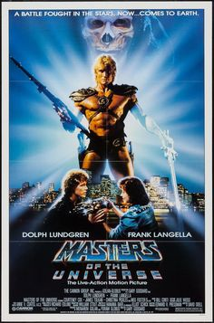 Masters of the Universe - movie poster - Very Fine (8.0)