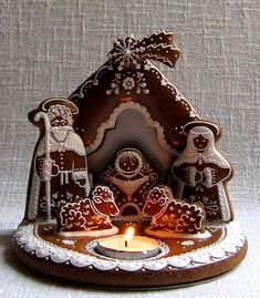 Christmas Cookies Gift, Christmas Gingerbread House, Christmas Baking, Christmas Crafts, Merry Christmas, Gingerbread Decorations, Gingerbread Cookies, Christmas Decorations, Ginger House