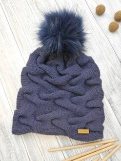 Knitting Pattern - Lacy Set - Knit Hat and Loop -.- Strickanleitung – Verzopftes Set – Mütze und Loop stricken – Knitting Pattern – Lacy Set – Knit Hat and Loop – - Diy Scarf, Loop Scarf, Baby Knitting Patterns, Loom Knitting, Knitted Headband, Knitted Hats, Bandanas, Knit Beanie, Cable Knit