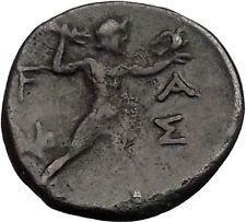 OLYMPIA Olympic Games 145-147 Olympiad in ELIS 200BC Ancient Greek Coin i56053