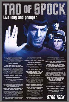Star Trek Tao of Spock Poster 24x36