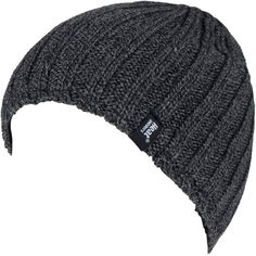 6ec7ced17a5 Men s Heat Holders Ribbed Knit Beanie (36 AUD) ❤ liked on Polyvore featuring  men s