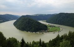 The S-bend from the Schlogen blick in Austria. Looks like an amazing bike trip by @Aussie France