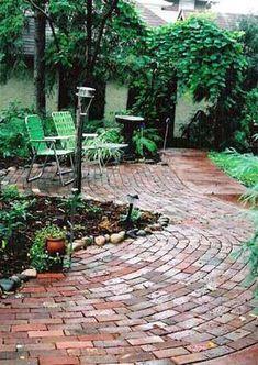 Brick Patio Design | Pictures and Ideas
