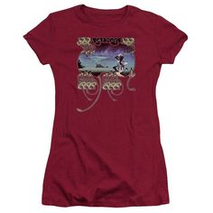 Yes Yessongs Cardinal Womens Fine Jersey T-Shirt
