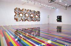 Jim Lambie, Zero Concerto | Roslyn Oxley9 Gallery | Artsy